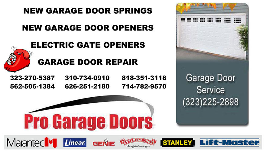 NEW GARAGE DOOR SPRINGS Covina